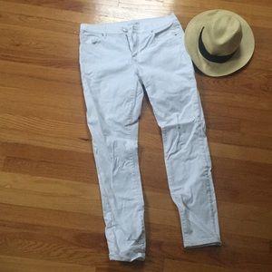 Loft White Jeans! EUC